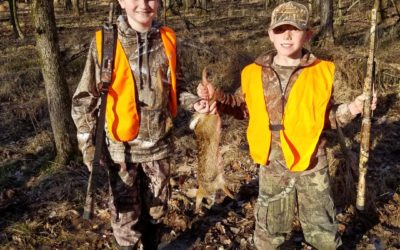 Crappie Deer and Rabbits Oh My!