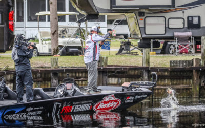 Catching Spawning Bass With John Cox