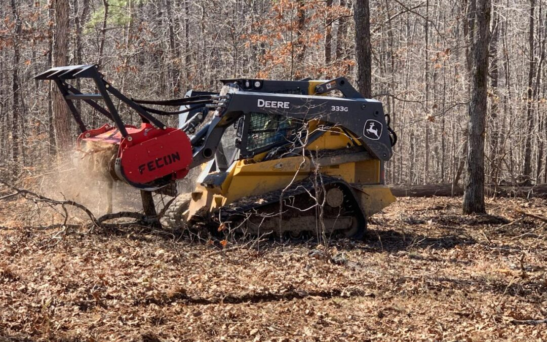 Carving Out A Food Plot